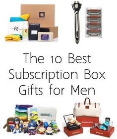The 10 best Monthly Subscription Box gifts for men - complete with reviews of every box!