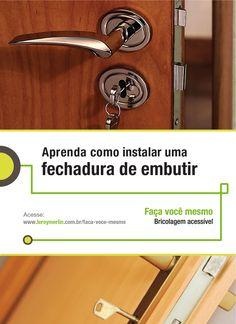 Quer trocar a fechadura da porta por uma de embutir? Acompanhe o passo a passo da nossa Ficha de Bricolagem e faça você mesmo. http://leroy.co/1cf3YPT