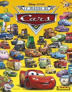 Disney Pixar THE WORLD OF CARS Sticker Book with wall poster Stickers are sold separately and are also made by Panini ** Check out this great product.