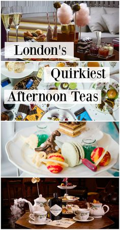 An article telling you all about London's Quirkiest Afternoon Teas! Pin for later and add these to your list for the next time you're in the city.