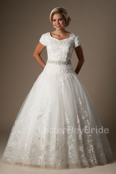 Modest Wedding Dresses : Rodolfo