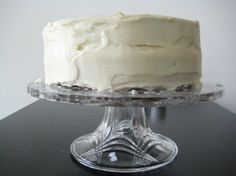 Vanilla bean cake: This has been the recipe for many a birthday cake in our house!