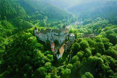 Pernstejn castle  Pretty impressive castle, many Czech and European fairytales were filmed here.