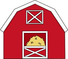 farmer clip art free barn clip art image red and white barn rh pinterest com free clipart barn and silo free barn door clipart