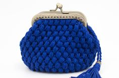 Crochet Coin Purse, Crochet Wallet, Handmade Crochet Wallet, Cute Purse, Purse With Frame, Coin Purse, Kiss Lock Coin Purse Crochet Wallet, Crochet Coin Purse, Knitted Beret, Knitted Gloves, French Beret Hat, Wool Berets, Chunky Wool, Coin Purses, Arm Warmers