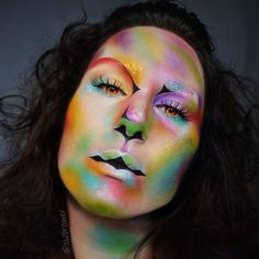 ✨Neon dreams✨ my entry for #glitterfriday #sephora #litcosmetics ✨ @mehronmakeup paradise paint (pastel) @kryolanofficial aquapaint in black and white @grimasmakeupbh nosewax to block out my brows @morphebrushes 35u palette @sugarpill eyeshadows poison plum, 2am, buttercupcake, flamepoint, acidberry, mochi. @starcrushedminerals havoc and orange sorbet. @inglotbenelux black eyeshadow 391. @ardell_lashes double up lashes 206. Orange, pink, light blue, white, silver and copper glitter from…