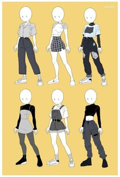 Teen Fashion Outfits, Anime Outfits, Grunge Outfits, Cute Outfits, Super Hero Outfits, Edgy Outfits, Super Hero Costumes, Girl Outfits, Cute Art Styles