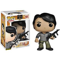 e847f8b99787a6 The Walking Dead - Prison Glenn Pop! Vinyl Figure by Funko Glenn s  temperature was red hot. Just like this awesome Prison Glenn Pop! Get this  Pop!