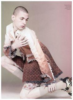 Give Me Back My Man | Yuri Pleskun for Love Magazine by David Sims