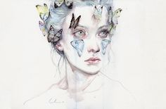 Ruby! (Also even the name of the print fits with the story) love and sacrifice Art Print by Agnes-cecile