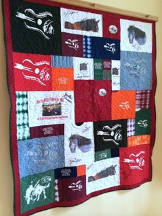 Hanging Quilts, Shirt Quilt, Blanket, Wall, Blankets, Shag Rug, Comforters, Quilt