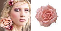 Quinta's Boutique: Bloem Roze Crown, Band, Boutique, Accessories, Jewelry, Taupe, Fashion, Beige, Moda