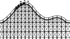 Free Roller Coaster PowerPoint template is also good for