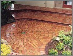 Oregon Brick Pattern.