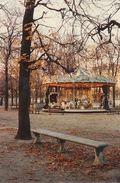 fall carousel