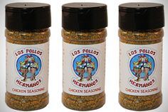 "Los Pollos Hermanos Food Seasoning - I love this.. I think it could totally be a DIY gift; just buy any kind of seasoning like chili powder or something, print out a label just like these with ""Los Pollos Hermanos"" on them, and glue the new label onto them!"
