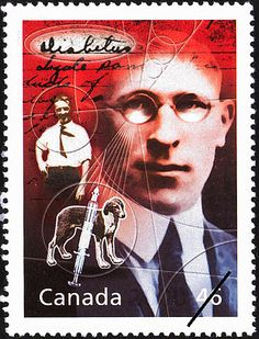 Stamp - won Nobel prize