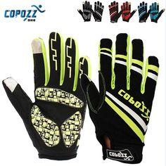 Copozz Brand New Gel Full Finger touch screen bike cycling gloves anti-skip shockproof breathable bicycle MTB sports gloves www.peoplebazar.net #peoplebazar