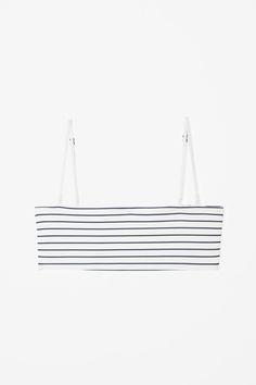 COS | Bikini top with striped seams