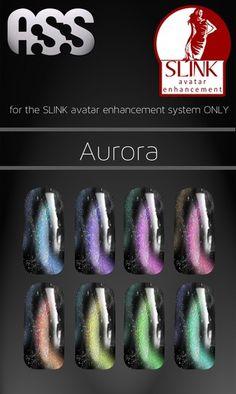 A:S:S - SLINK avatar enhancement nail appliers - Aurora L$98