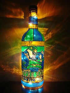 The-Fighting-Irish-of-Notre-Dame-Custom-Bottle-Art-any-team-any-theme