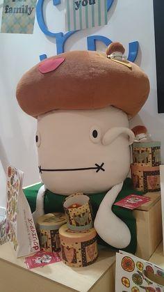 dクリエイターズ in うめだ阪急 2014/9/24-9/30のマスコット・ドコモダケ http://creators.dmkt-sp.jp/