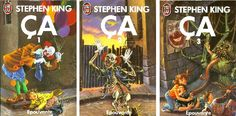 Amazing french covers for Stephen King's IT @Editions_Jaiu More french covers >>> http://club-stephenking.fr/632-couvertures-francaises-livres-stephen-king