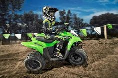 New 2016 Kawasaki KFX 90 ATVs For Sale in Texas. 2016 Kawasaki KFX 90, KAWASAKI KFX 90 The KFX®90 ATV provides the ideal blend of size and performance for riders 12 and older that are stepping-up from a 50 cc ATV or just getting started. 89 cc four-stroke engine and automatic transmission delivers broad power delivery with plenty of usable torque Push button electric start provides simple and reliable starting Parental controls such as an adjustable throttle limiter and CVT collar allow the…