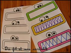 Nouvelles cartes graphiques pour mon coin graphisme... Des monstres avec des bouches colorées pour ceux qui n'auraient pas vu !:) ...