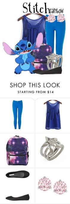 """Stitch"" by tallybow ❤ liked on Polyvore featuring Oasis, BCBGeneration, Billini and Swarovski"