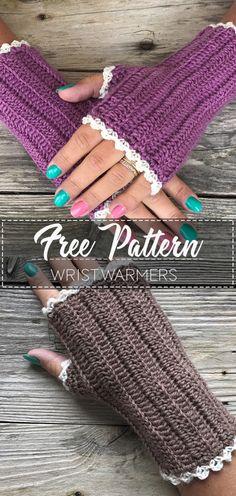 Crochet Wristwarmers – Pattern Free Crochet Wristwarmers – Pattern Free ,Pulswärmer, Handschuhe, Stulpen Crochet Wristwarmers – Pattern Free Related posts:Damensweatshirts - How to knit a scarfKnitting patterns toddler sweater. Crochet Fingerless Gloves Free Pattern, Crochet Mitts, Knitted Mittens Pattern, Knit Crochet, Easy Crochet Scarf Patterns, Beanie Crochet Pattern Free, Crochet Craft Fair, Fingerless Mittens, Crochet Stitch