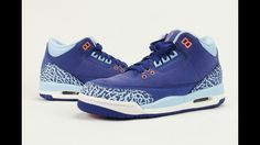0a65873c32d Air Jordan 3 GS Dark Purple Dust Blue Cap Review + On Feet