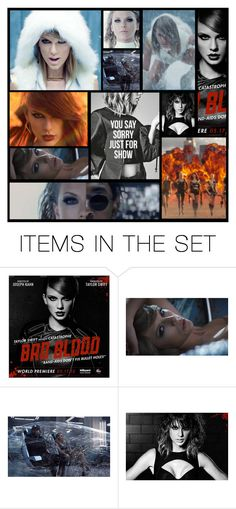 """""""bad blood taylor swift"""" by heartandsoul ❤ liked on Polyvore featuring art"""