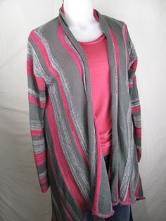 Billabong grey pink sweater