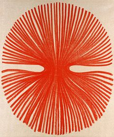 Najia Mehadji red art lines drawing pattern circle Art Et Illustration, Illustrations, Creation Art, Arte Sketchbook, Arte Floral, Art Graphique, Art Inspo, Printmaking, Graphic Art