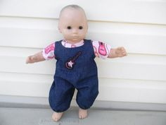 Doll Clothes for 15 Inch Dolls Bitty Baby  by roseysdolltreasures