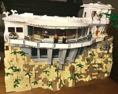 Tony Stark's workshop / Malibu Mansion: Exterior progress