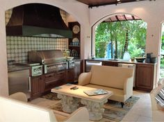 Zynda Custom Homes (@ZyndaCustomHome) | Twitter Traditional Outdoor kitchen in Naples, Fl