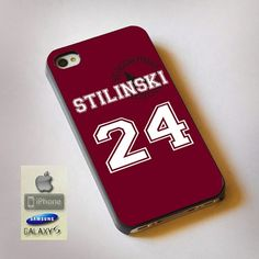 "Teen Wolf Stilinski Lacrosse Jersey Print On Hard Plastic For iPhone 4/4s, Black Case  This case is available for: iPhone 4/4S iPhone 5/5S iPhone 6 4.7"" screen Samsung Galaxy S4 Samsung Galaxy S5 iPod"
