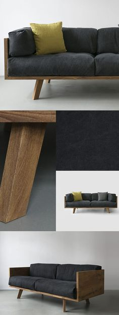 HOME-DZINE   DIY Sofa - As an alternative to expensive hardwoods, meranti and saligna don't cost quite as much and are strong enough to use for making your own furniture. The advantage of these two woods over pine is that, they don't expand and contract as much and are suitable for outdoor furniture.
