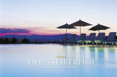 One of our newest partner hotels: Der Steirerhof, Austria Spa Hotel, 5 Star Resorts, Hotels, Hotel Reservations, Marina Bay Sands, Bad, Austria, Landscape, Building