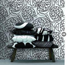bold, graphic wallpaper from Modern Karibou