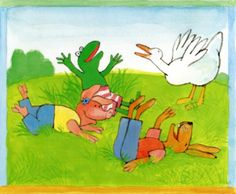 Kikker and friends book of Max Velthuijs