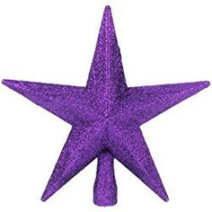 Purple Glitter Star Christmas Tree Topper ** You can find more details by visiting the image link. Glitter Stars, Purple Glitter, Christmas Tree Toppers, Christmas Tree Ornaments, Purple Christmas Tree Decorations, Diy Tree Topper, Star Ornament, Tree Tops, Ebay