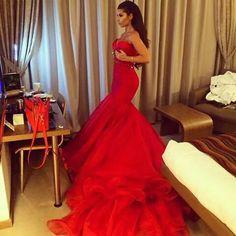 Red wedding dress☻