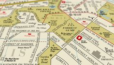 Creative Review - Dorothy's Film Map