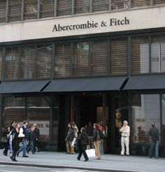 fifth ave new york stores   Abercrombie & Fitch .