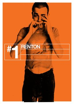 Poster series to celebrate 15th anniversary of Trainspotting.