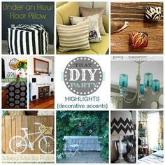 That DIY Party Highlights � Decorative Accents