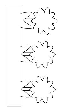 Grass Coloring Pages Images Paper Flower Wall, Paper Flowers, Quiet Book Templates, Homemade Birthday Cards, Art Drawings For Kids, Flower Template, School Decorations, Foam Crafts, Craft Patterns
